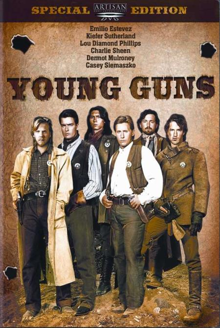 Young Guns DVD Cover Art