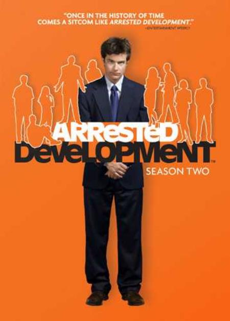 Arrested Development - Season 2 DVD Boxset Cover Art