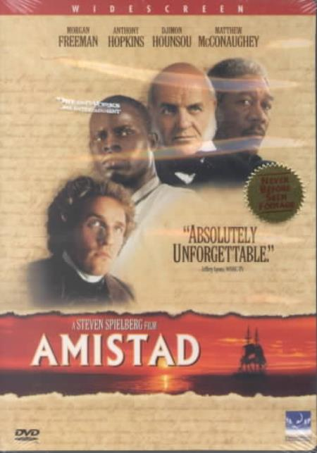 Amistad DVD Cover Art
