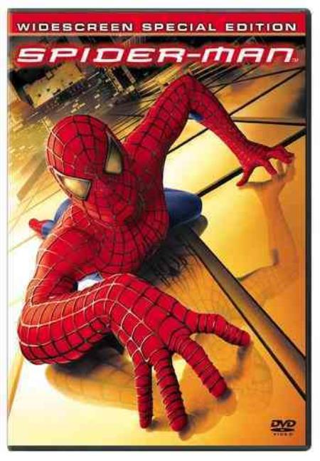 Spider-Man DVD Boxset Cover Art