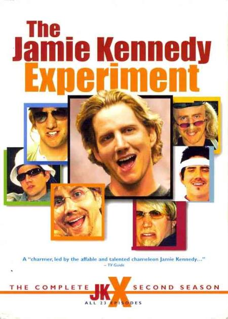 The Jamie Kennedy Experiment - The Complete Second Season DVD Boxset Cover Art