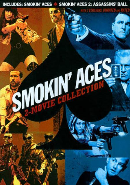 Smokin' Aces Collection DVD Boxset Cover Art