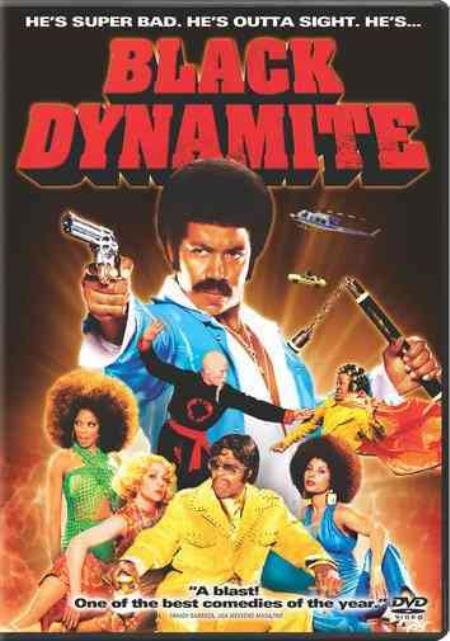 Black Dynamite DVD Cover Art