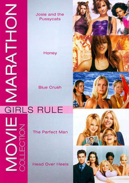 Movie Marathon Collection: Girls Rule DVD Cover Art