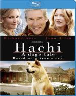 Hachi: A Dog's Tale Blu-ray Cover Art