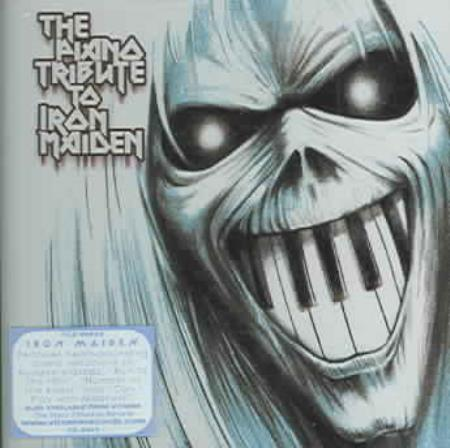 Various Artists - The Piano Tribute to Iron Maiden CD Cover Art