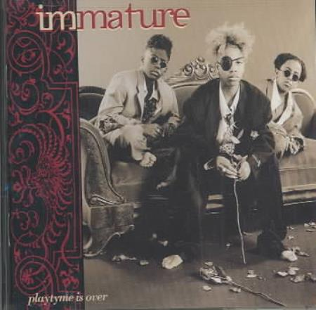 Immature - Playtyme Is Over CD Cover Art