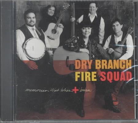 Dry Branch Fire Squad - Memories That Bless & Burn CD Cover Art