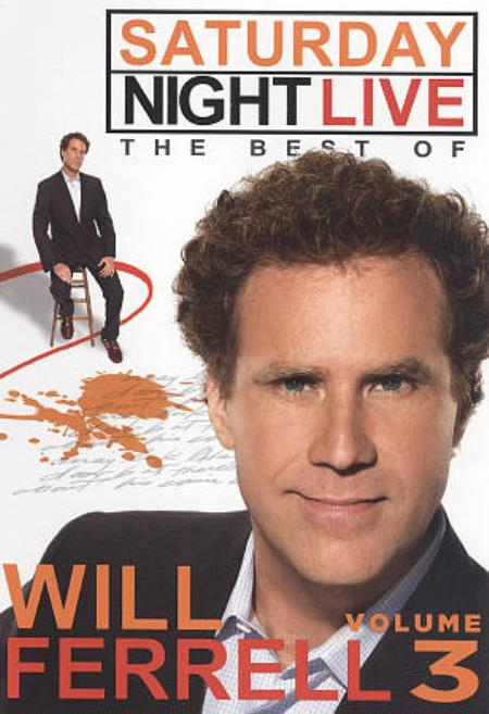 Saturday Night Live: The Best of Will Ferrell, Vol. 3 DVD Cover Art