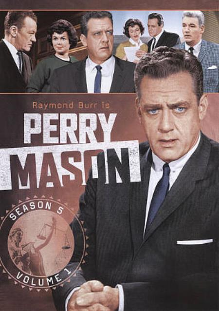 Perry Mason: Season 5, Vol. 1 DVD Boxset Cover Art