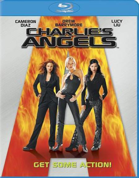 Charlie's Angels Blu-ray Cover Art