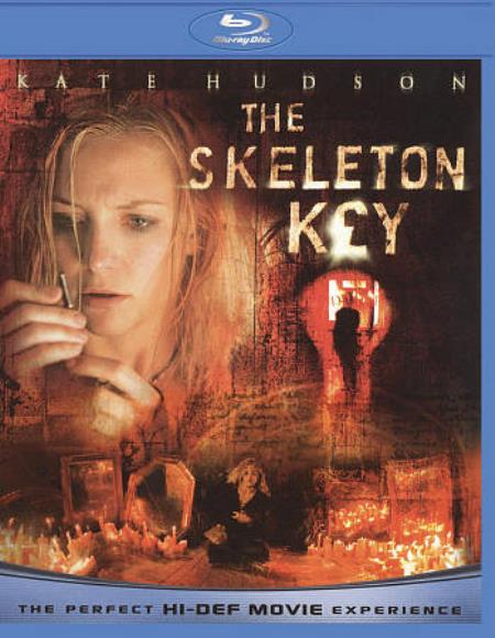 The Skeleton Key Blu-ray Cover Art