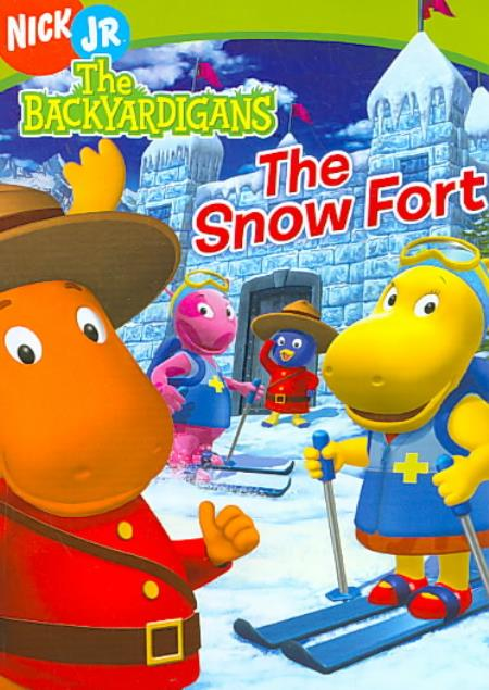 The Backyardigans - The Snow Fort DVD Cover Art
