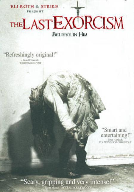 The Last Exorcism DVD Cover Art