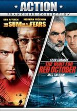 The Hunt for Red October/Sum of All Fears DVD Cover Art