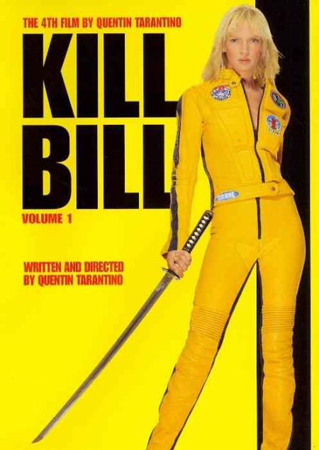 Kill Bill Vol. 1 DVD Cover Art