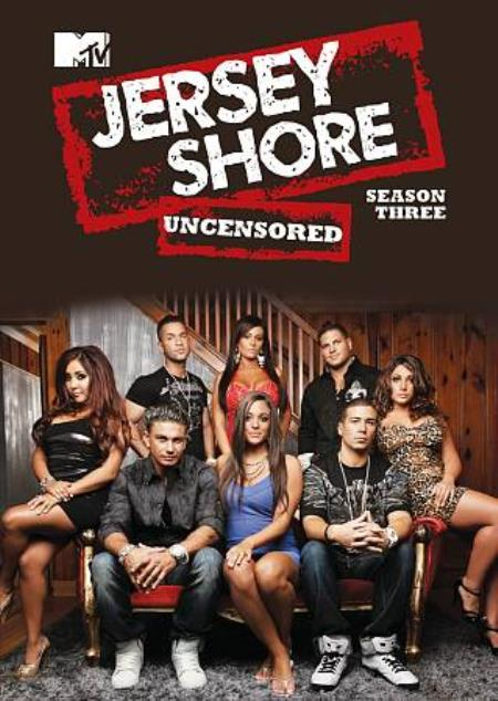 Jersey Shore: Season Three DVD Boxset Cover Art