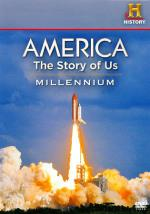 America: The Story of Us - Millennium DVD Cover Art
