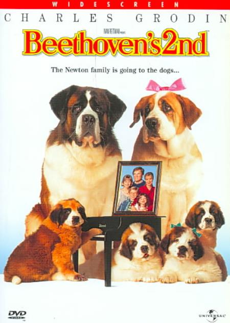 Beethoven's 2nd DVD Cover Art