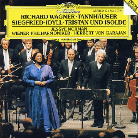 "Wagner: Tannh""user/Siegfried-Idyll/Tristan und Isolde CD Cover Art"