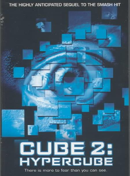 Cube 2: Hypercube DVD Cover Art