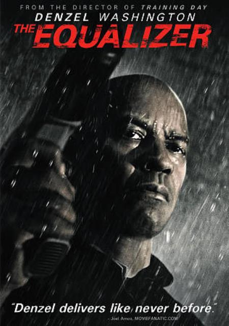The Equalizer DVD Cover Art