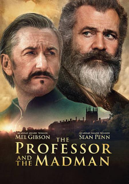 Professor and the Madman DVD Cover Art